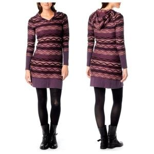 Prana XL Meryl Sweater Dress | Hooded